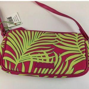 Vera Bradley Bags - Vera Bradley Palm Fronds Small Crossbody Bag Pink